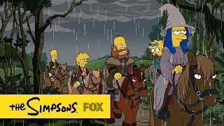 The Hobbit Movie Simpsons Couch Gag Parody