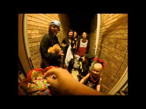 Giving Out Candies During Halloween POV