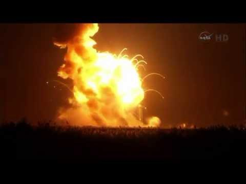 NASA's Commercial Supply Rocket Explodes After Takeoff