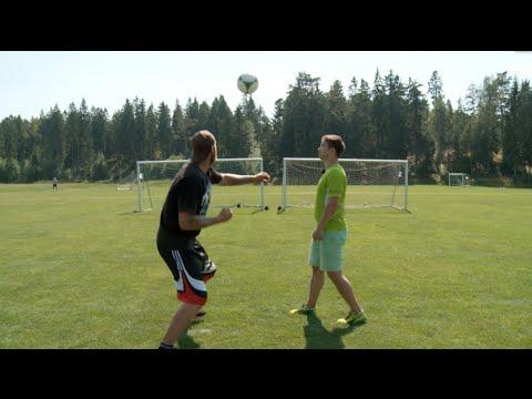 Robert Helenius Shows How To Punch The Soccer Ball