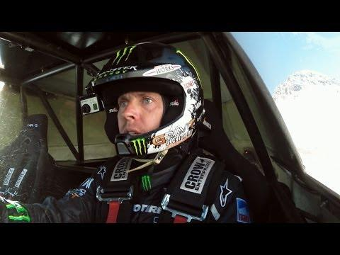 Guerlain Chicherit's Long Ramp Car Jump Fail
