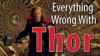 Movie Mistakes From Thor In 8 Minutes Or Less