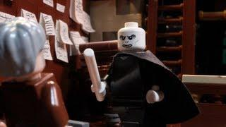 LEGO Version Of Fight Between Voldemort And A Powerful Wizard