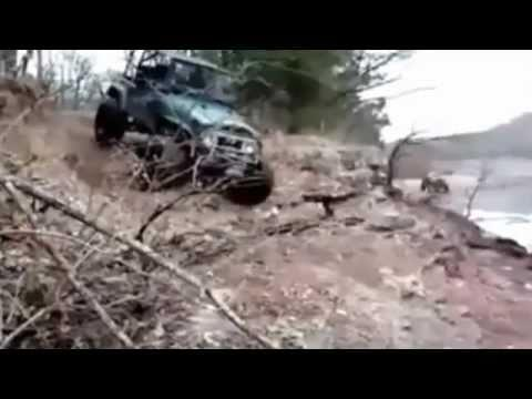 WIN - Exiting The Rolling Jeep Like A Boss