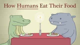 Animals Eating Like Humans Parody