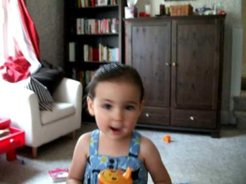 Cute - Baby Girl Sings Don't Stop, Don't Give Up Song