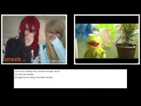 Kermit The Frog Goes On Omegle