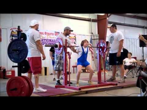 FAIL - 9 Year Old Squats 205 Pounds