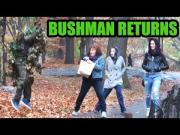 Guy Dressed As Bush Scares People In NYC Prank