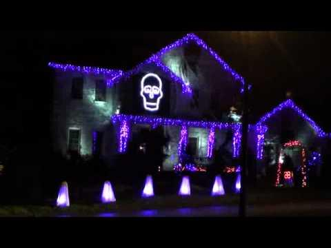 Awesome - Ghostbusters Halloween House Light Show