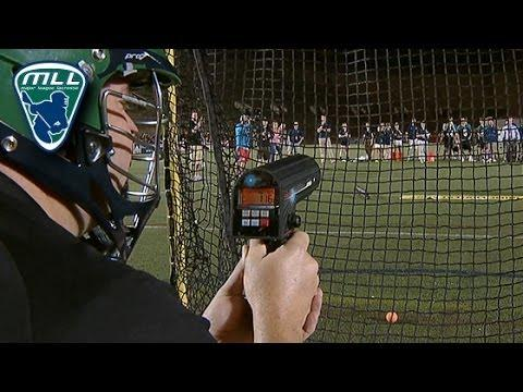 Lacrosse Fan Breaks The MLL Record With Fastest Shot