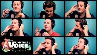 Nick Pitera's The Little Mermaid Kiss The Girl Song A Capella Cover