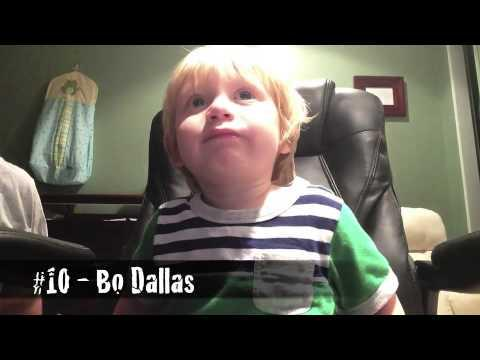 2 Years Old Kid Knows Most Of The WWE Themes
