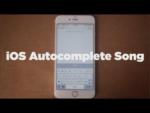 Jonathan Mann's Song Composed Using Apple's Autocomplete