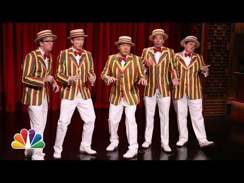 Barbershop Quartet Style Cover Of Jason Drulo's Talk Dirty Song By The Ragtime Gals And Kevin Spacey