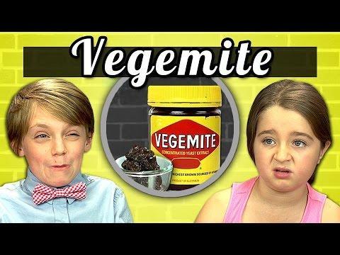 Funny Kids Reaction To Vegemite