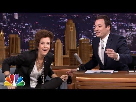 Kristen Wiig Impersonates Harry Styles On Jimmy Fallon's Tonight Show