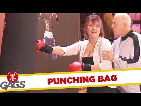 Strong Boxing Instructor Prank