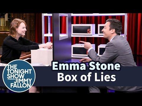 Emma Stone Sucks At Lying