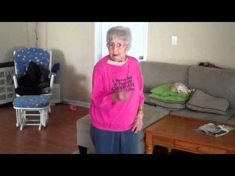 Cute - Granny Plays Just Dance 2 Game