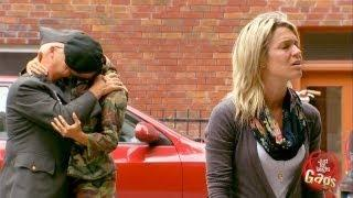 Gay Soldier Cheats On Wife Prank
