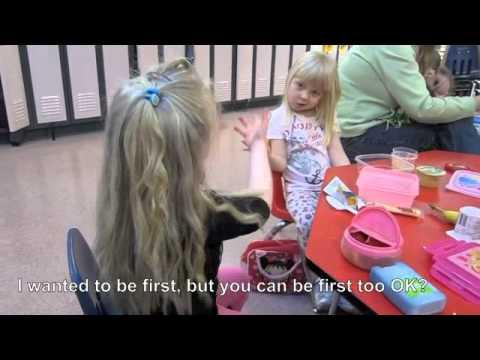 Cute - Two Little Girls Signing About Marriage