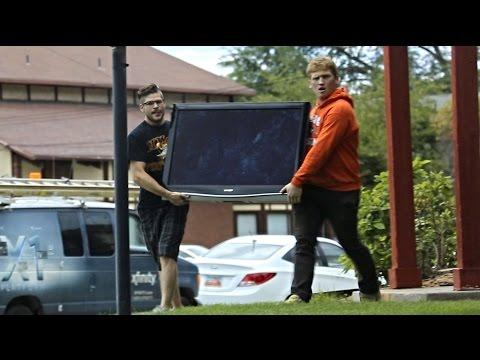 Instant Accomplice To Steal TVs Prank