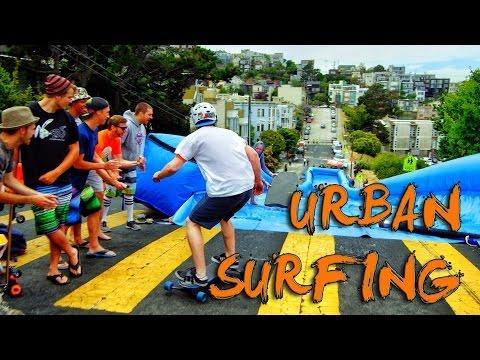 Epic Slip And Slide In San Francisco