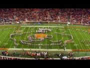 Tribute To Nintendo By Clemson University Marching Band During The Halftime