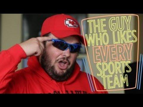 Meet The Guy Who Likes All The Sports Teams