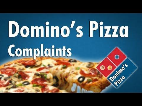Funny Customer Complaints From Domino's Pizza