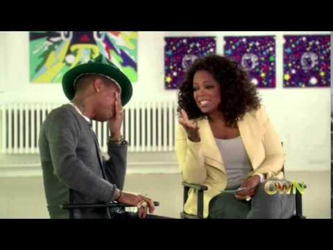 Happy Song Dance Video Makes Pharrell Williams Emotional On Oprah Winfrey's Show