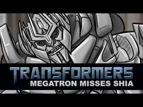 Optimus Prime And Megatron Argue About Shia