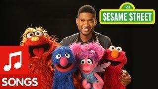ABC Song On Sesame Street Sang By Usher And The Muppets