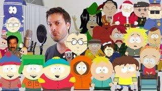 South Park Character Impressions