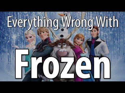 Movie Mistakes From Disney's Frozen