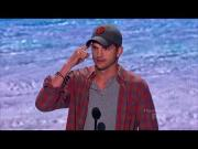 Ashton Kutcher's Speech At Teen Choice Awards