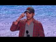 Ashton Kutcher's Speech At Teen Choice Awards