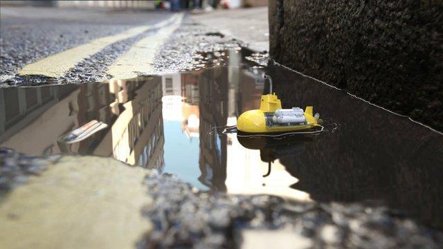 Tiny Submarine Vs Cigarette