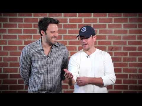 Ben Affleck And Matt Damon Make Fun Of Each Other