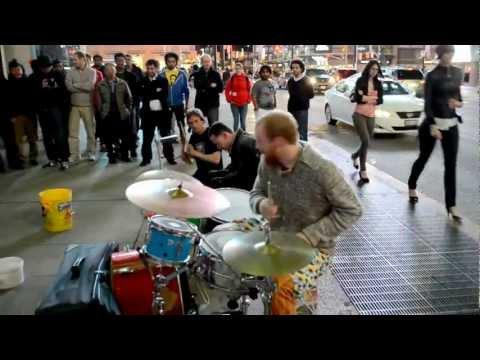 Awesome - Awesome Street Drummers Performance