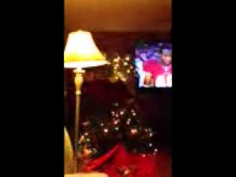 FAIL - Excited Fan Vs Christmas Tree