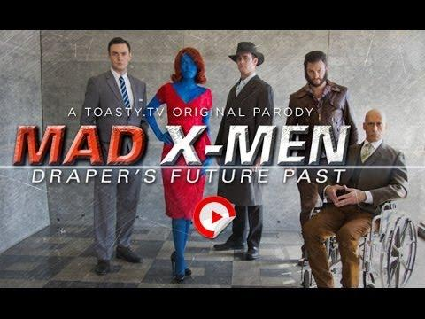 Funny Mad Men X-Men Spoof