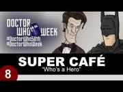 Batman And Superman Chat With Doctor Who