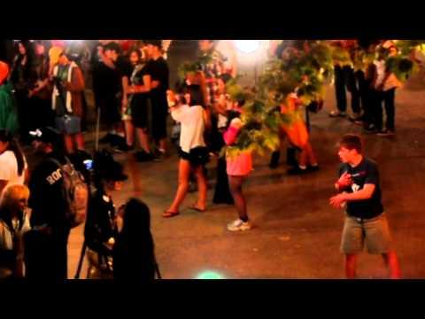 Funny Guy Dancing At A Concert