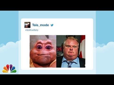 Babies That Look Like Toronto Mayor Rob Ford