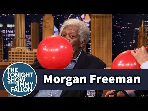 What Morgan Freeman's Voice Sounds Like On Helium