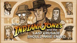 How Indiana Jones And The Last Crusade Movie Should Have Ended