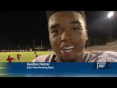 High School Football Player Apollos Hester's Motivational Post Game Interview
