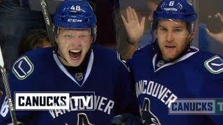 Parents Reaction After Seeing Hockey Player Son Score A Goal